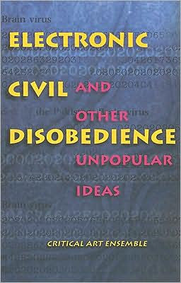 Electronic Civil Disobedience and Other Unpopular Ideas