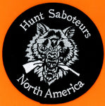 Hunt Saboteurs North America Patch