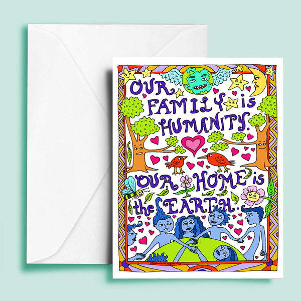 Our Family Greeting Card