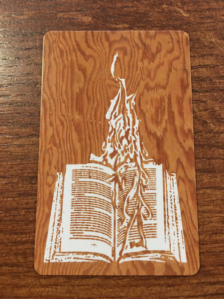 Burning Books Gift Card