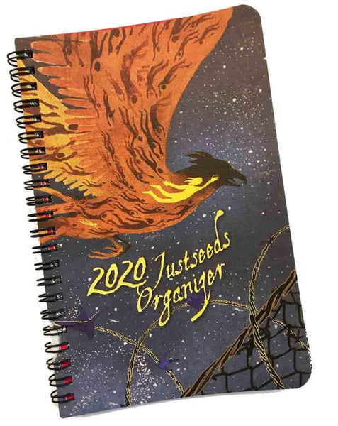 Justseeds/Eberhardt Press Organizer 2020 Large Planner