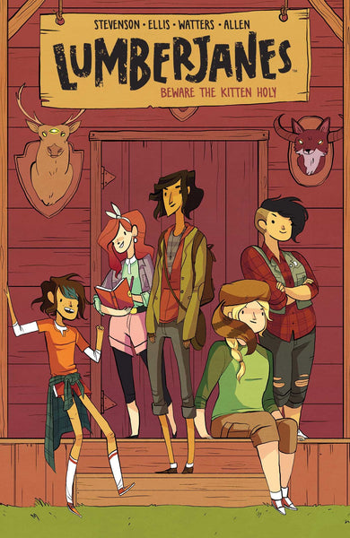 Lumberjanes 1 Beware the Kitten Holy