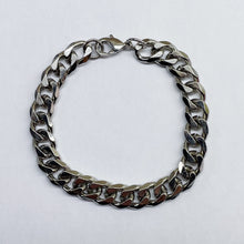 Load image into Gallery viewer, Silver Cuban Link Bracelet
