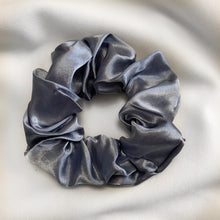 Load image into Gallery viewer, Blue & Grey Scrunchy Set