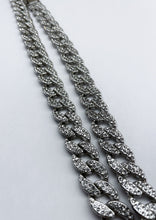 Load image into Gallery viewer, Silver Icey Cuban Link Chain