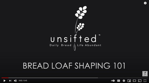 YouTube link to Bread Shaping 101 Video