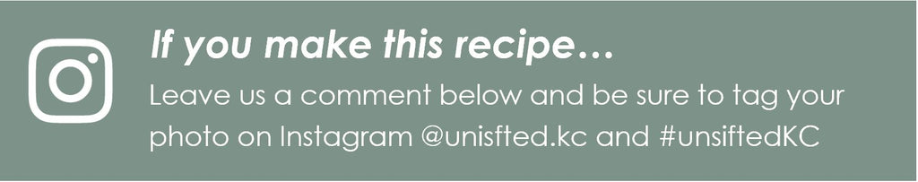 Please leave a comment and tag @unsifted.kc