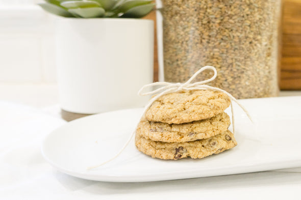 CHOCOLATE CHIP COOKIES - Unsifted's Dessert Berry Blend used for Chocolate Chip Cookies