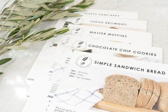 Getting Started Recipe Cards