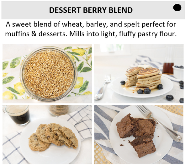 *Unsifted Starter Kit* | WonderMill + Whole Grain Blends + Recipe Cards