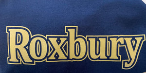 Navy Roxbury Hooded Sweatshirt