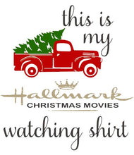 Load image into Gallery viewer, Hallmark Watching Holiday Shirt