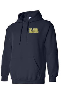 Navy Hooded Sweatshirt L/R