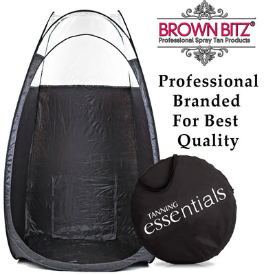 Spray Tanning Pop Up Multi Purpose spray tan tent Booth - Brown Bitz                                                                                                                                                            .