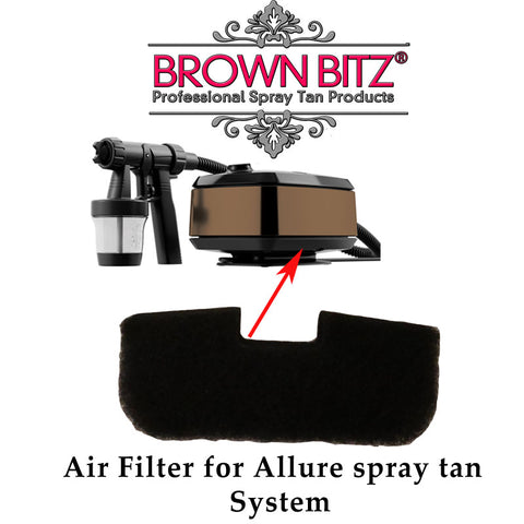 Aura Allure Replacement Air Filter for spray tanning machine