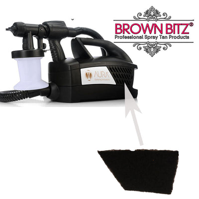 Aura Wagner Click and tan W-670  spray tan machine replacement air filter - Brown Bitz                                                                                                                                                            .