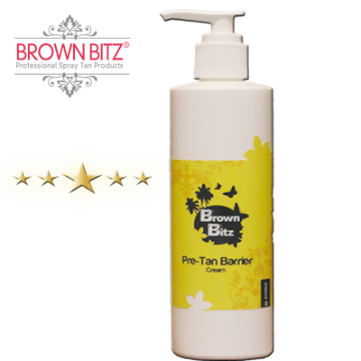 Barrier cream for spray tanning - Brown Bitz                                                                                                                                                            .