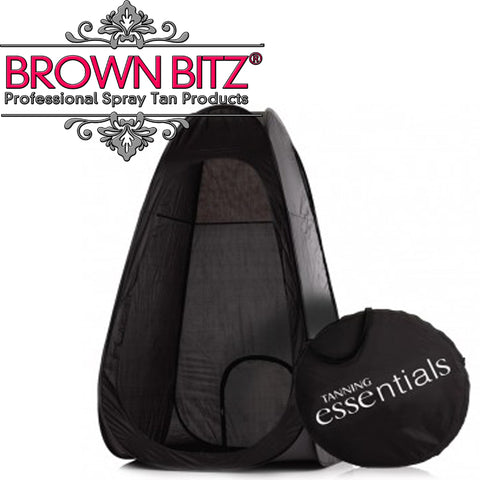 Spray Tanning Pop Up Multi Purpose spray tan tent Booth in Black