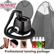 Pro V spray tan machine Package by tanning essentials_black - Brown Bitz                                                                                                                                                            .