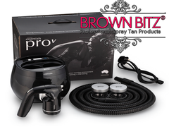 Pro V spray tan machine and carry case by Tanning essentials - Brown Bitz                                                                                                                                                            .