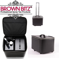 Rapid spray tan machine carry case and extraction unit - Brown Bitz                                                                                                                                                            .