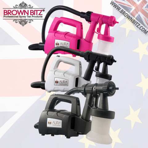 Aura elite compact professional spray tan machine small salon or mobile