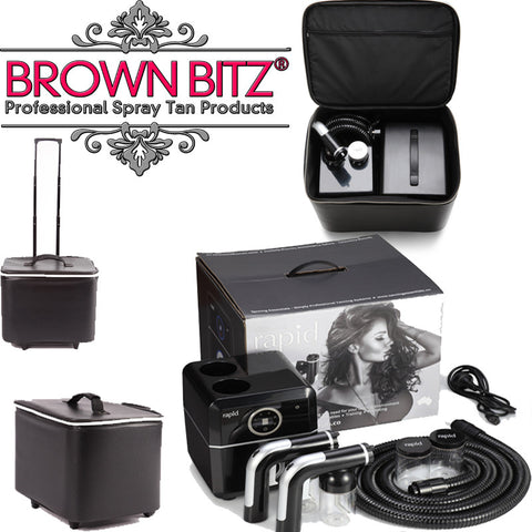 Rapid professional spray tan machine with carry case
