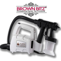 Compact Elite spray tan machine by Aura wagner in Ice White - Brown Bitz                                                                                                                                                            .