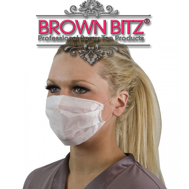 Disposable masks For Tanning - Brown Bitz Spray Tan Solutions
