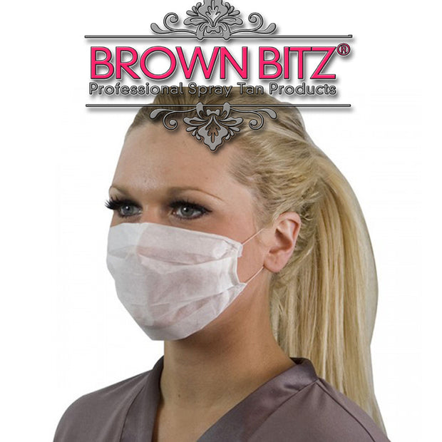 Disposable masks For Tanning - Brown Bitz                                                                                                                                                            .