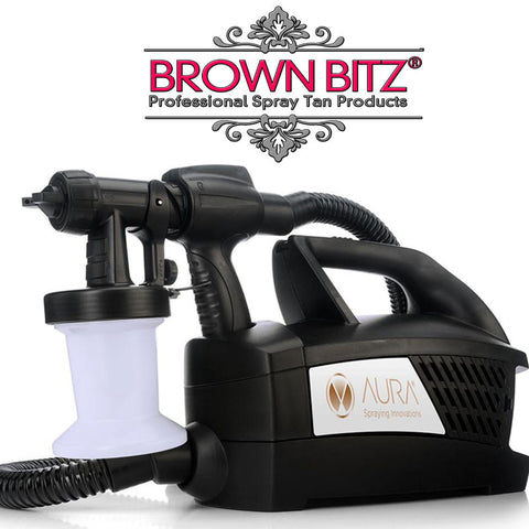 Aura Elite click tan and dry spray tanning machine