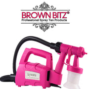 Aura Elite compact professional spray tanning kit for salon or mobile - Brown Bitz                                                                                                                                                            .