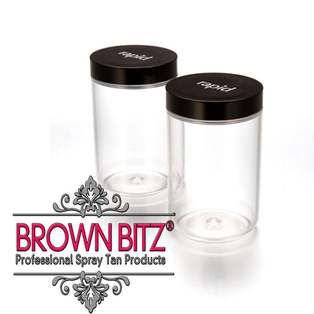 Rapid Spray Tanning Machine Spare tan cups and lids 2 of each in the pack - Brown Bitz                                                                                                                                                            .