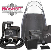 Professional Rapid spray tan package, machine, tent, extraction - Brown Bitz                                                                                                                                                            .