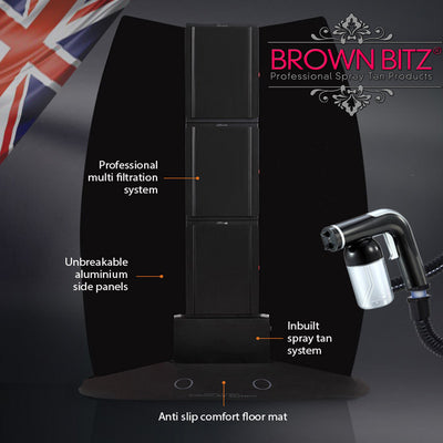 Spray Tanning station spray tan booth machine and extractor in one. - Brown Bitz                                                                                                                                                            .