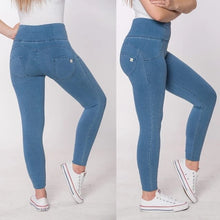 Carica l'immagine nel visualizzatore di Gallery, Melody Black Color Push Up Sexy Jeans Women 2019 Autumn Cotton Long Denim Jeans High Waist Skinny Jeans Woman Drop Shipping