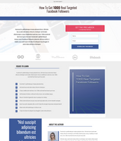 Free eBook Download Page Unbounce Template