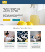 Cleaning Services Unbounce Template