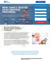 HVAC Services Unbounce Template - thumbnail
