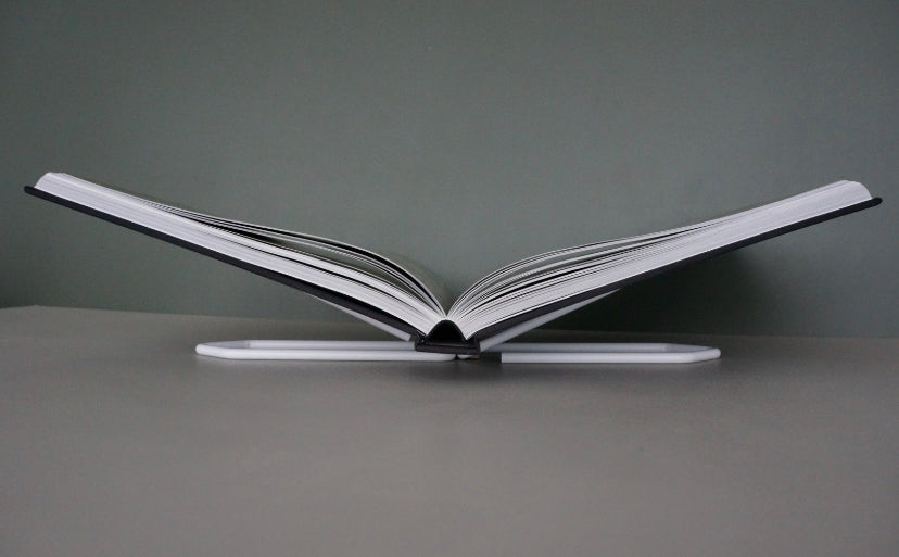 Reversible Bookstand - Krom Silver