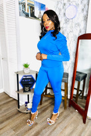 Bella 2pc Set- Blue