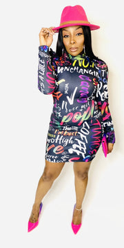 Party Paint Dress