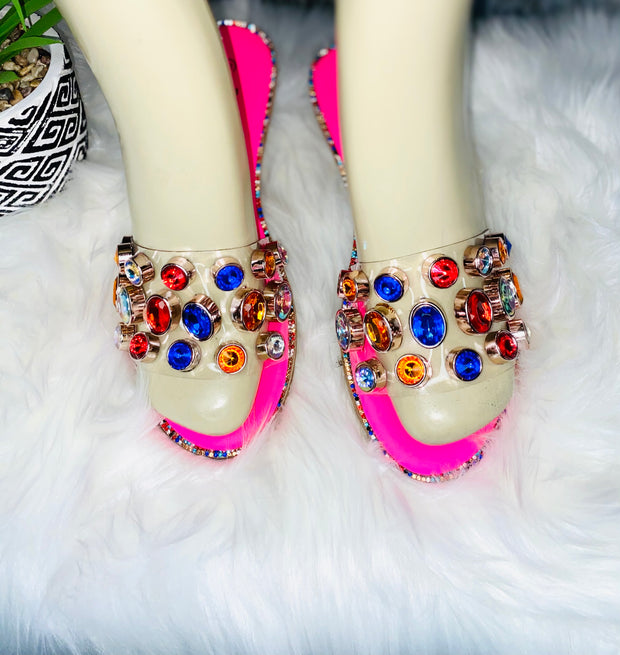 GemStone Slides Pink