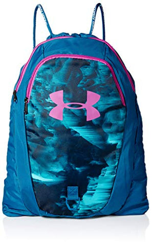 Under Armour Undeniable 2.0 Sackpack, Teal Vibe (417)/Optic Purple, One Size Fits All