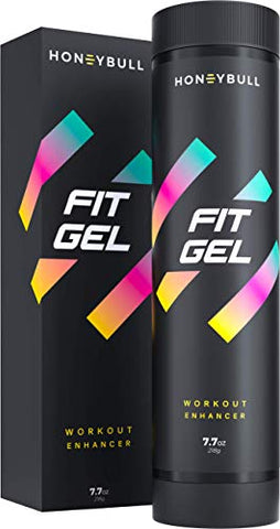 HoneyBull Fit Gel (7.7 oz) Workout Enhancer to Sweat More at Gym & Cardio