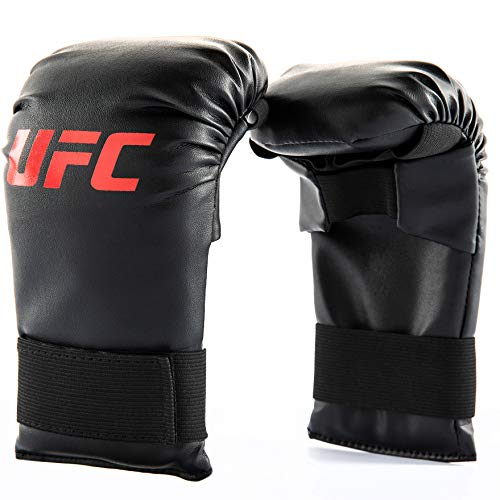 UFC Youth Heavy Bag & MMA Gloves Kit, Black