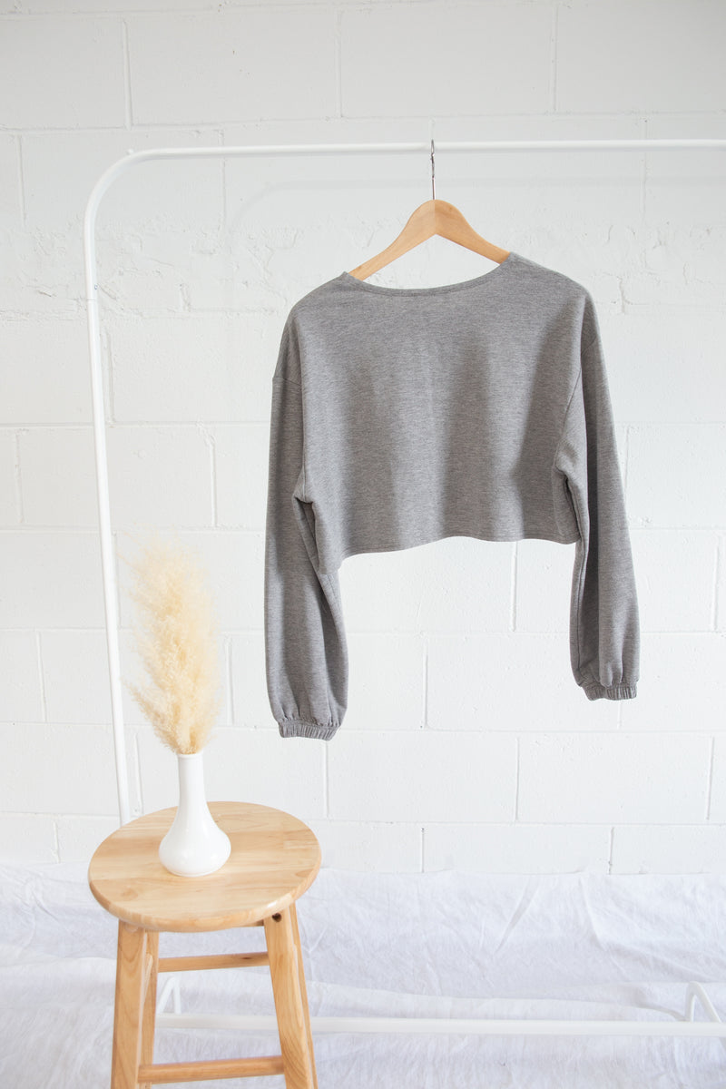Shein Cropped Sweater - S