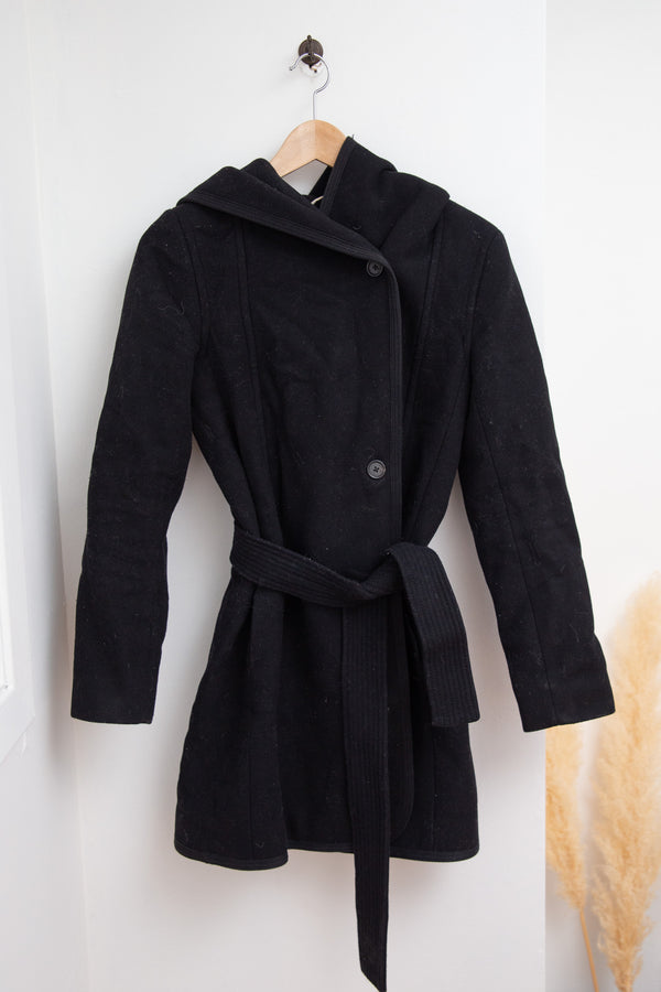 Hooded Wilfred Coat - S