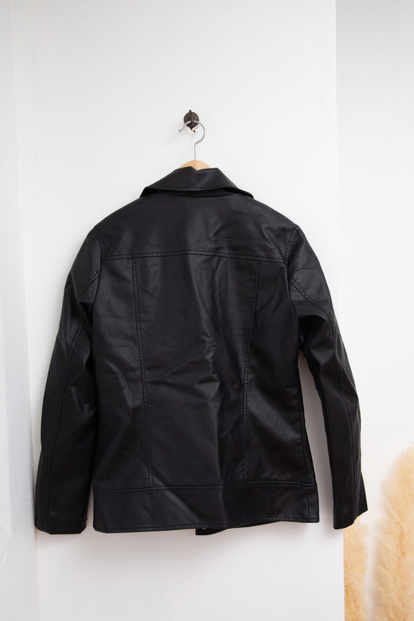 Dynamite Faux Leather Jacket - S