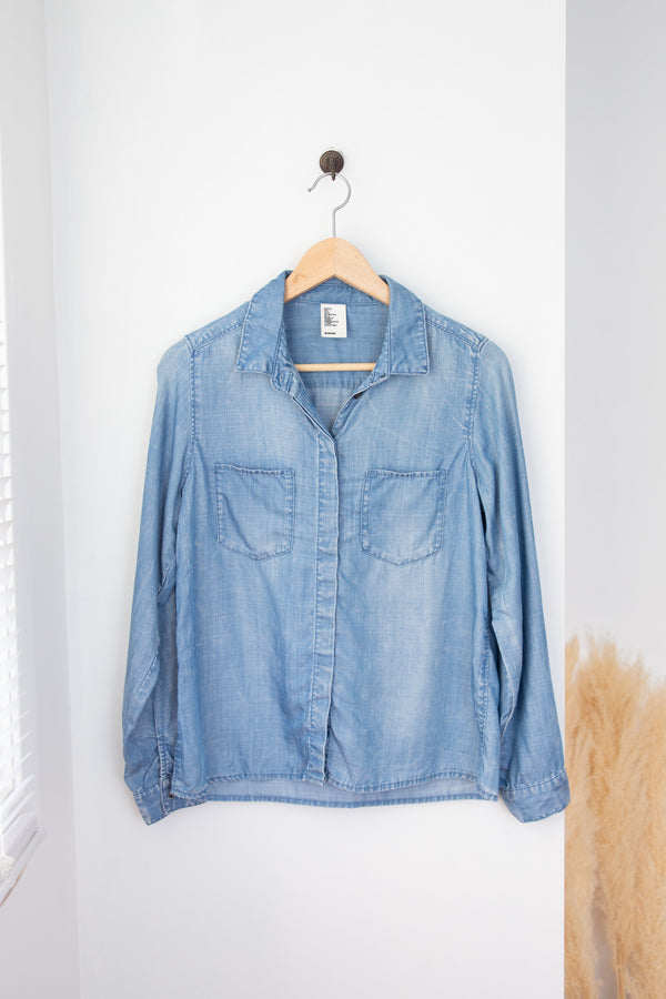 H&M Denim Shirt - 2